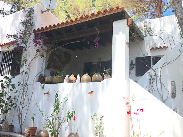 Zeezicht villa Cala Llenya