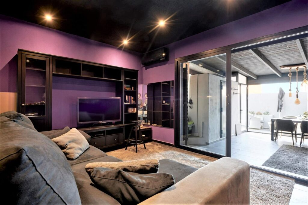 Appartement met onafhankelijke ingang en een eigen terras