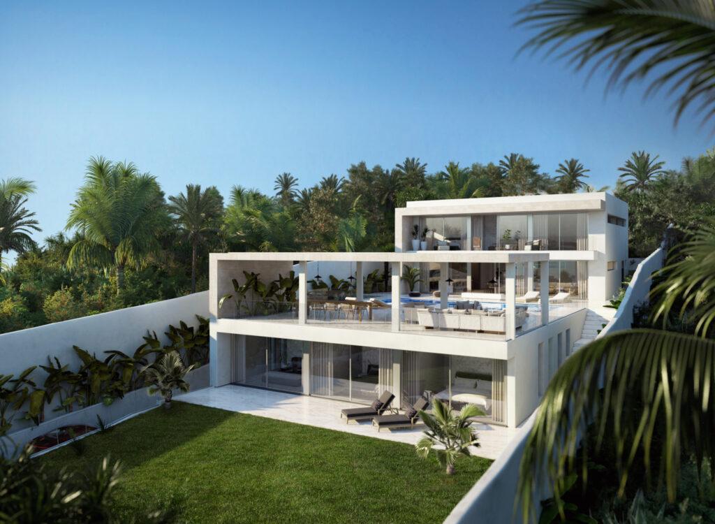 Gloednieuwe luxe villa te koop in Cap Martinet 1e lijn met zeezicht!