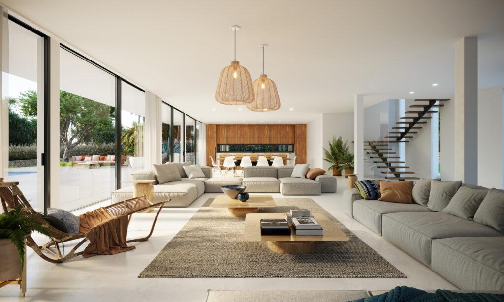 NIEUW PROJECT voor luxe villa met 5 slaapkam in Talamanca
