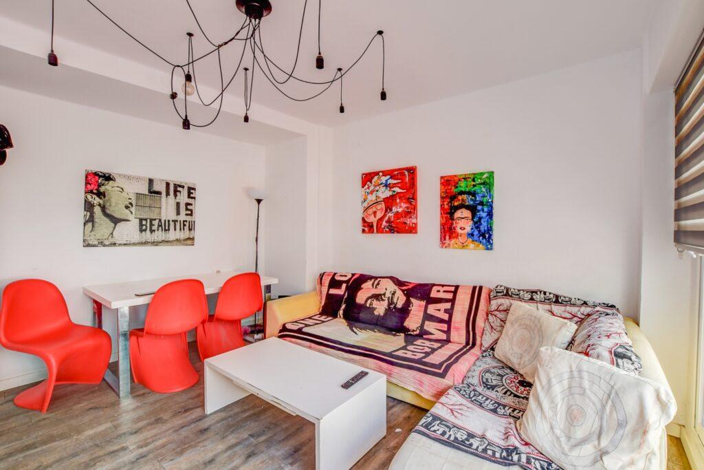 Licht appartement op een paar stappen van de Figueretas